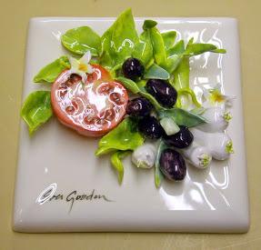 030_7_4 Mixed Vegetables - Tomato, Leeks, and Olives Tuscany