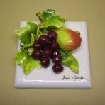 Grape - red - with French Pear